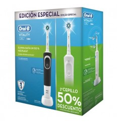 Cepillo Dental BRAUN DUO VITALITY BL+NEG